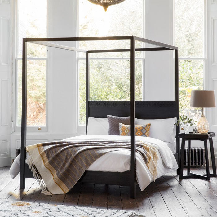 Denver Boutique 4 Poster Bed King Bed - Notbrand