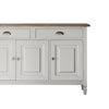 Athena 3 Door 2 Drawer Sideboard Taupe - Notbrand