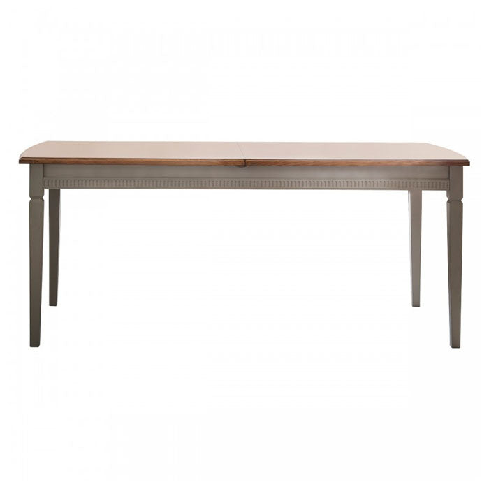 Athena Extendable Dining Table Taupe - Notbrand