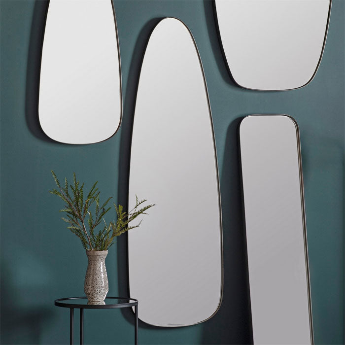 Bursa Mirror Pewter