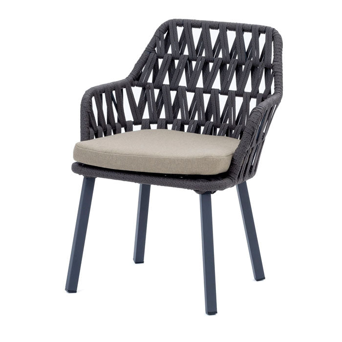 Cape Town Alumininum Frame Dining Chair