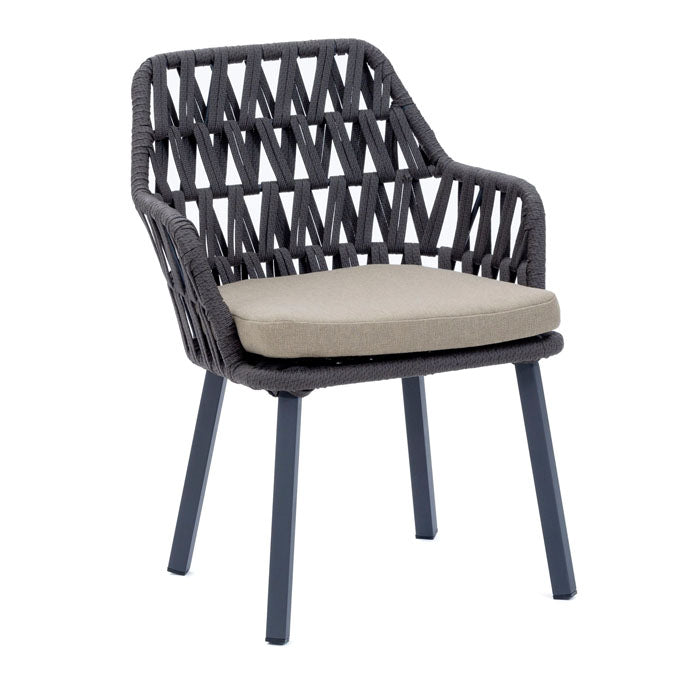 Cape Town Alumininum Frame Dining Chair - Notbrand