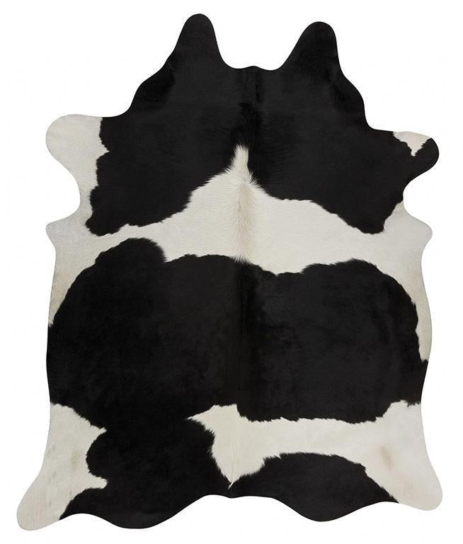 Glamorous Natural Cow Hide Black White