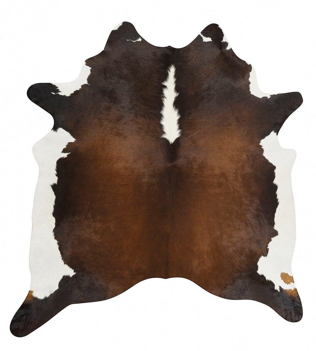 Glamorous Natural Cow Hide Chocolate