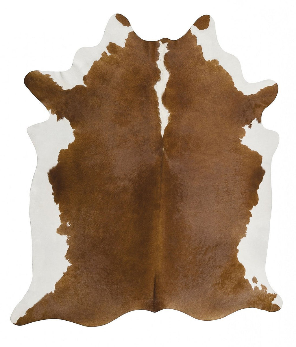 Glamorous Natural Cow Hide Hereford