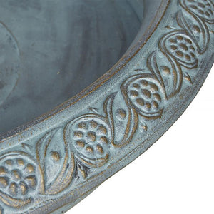 Madison Cast Iron Urn And Base - Notbrand