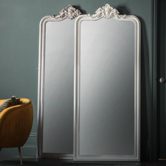 Cagney Leaner Mirror Silver