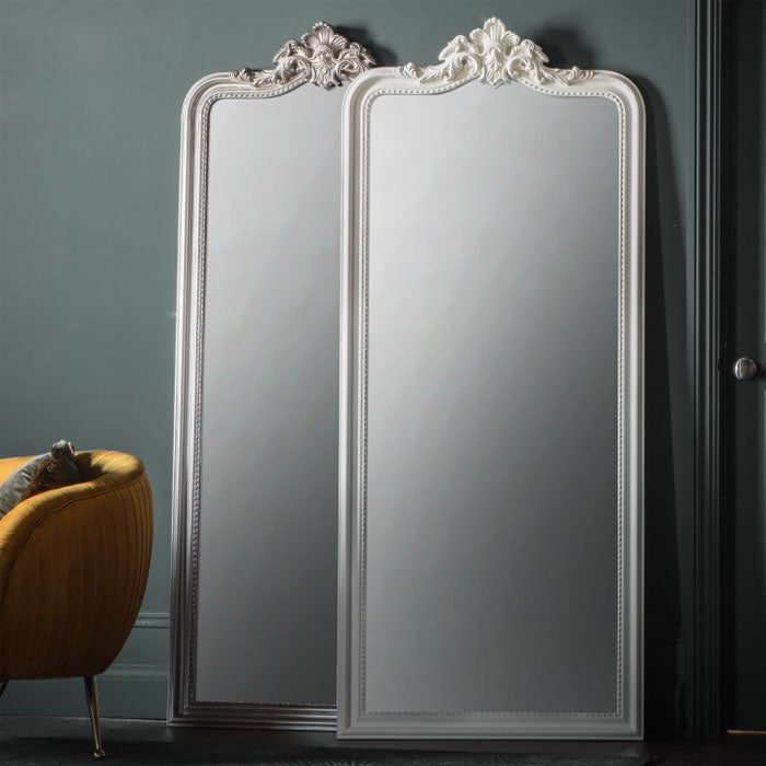 Cagney Leaner Mirror White