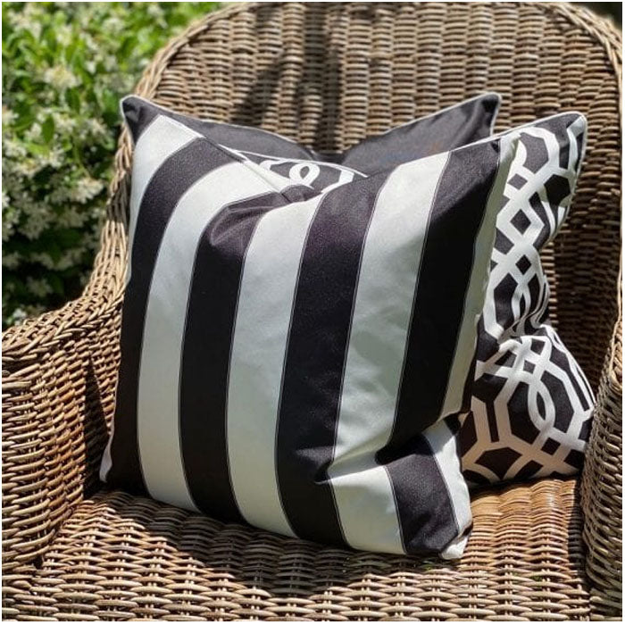 Capri Black Cushion - Notbrand