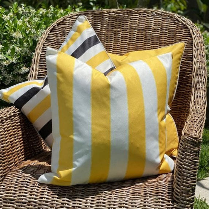 Capri Yellow Cushion - Notbrand