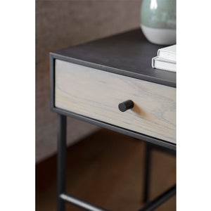 Wesley 1 Drawer Bedside Table - Notbrand