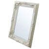 Alaric Carved Louis Mirror Cream - Notbrand