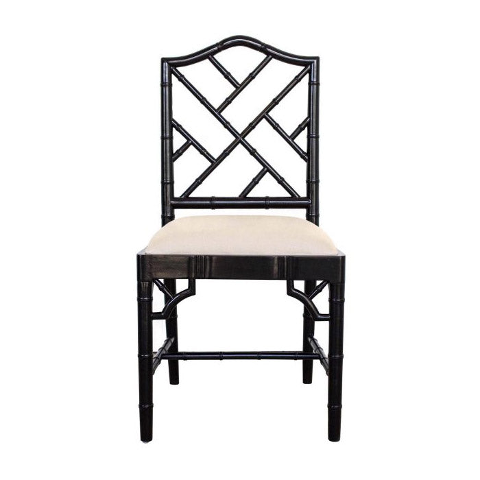 Chippendale Dining Chair – Black