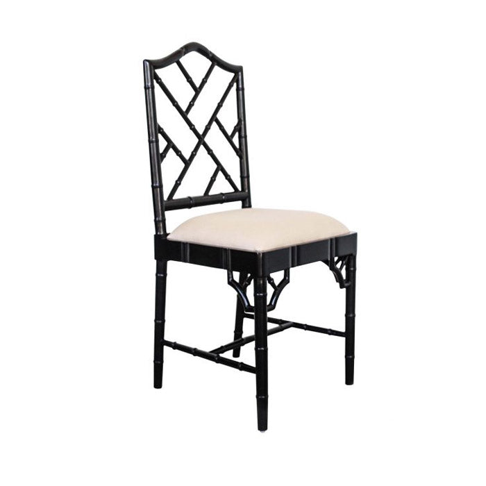 Paloma Chippendale Dining Chair – Black
