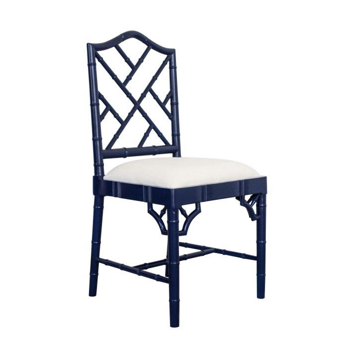 Paloma Chippendale Dining Chair – Navy
