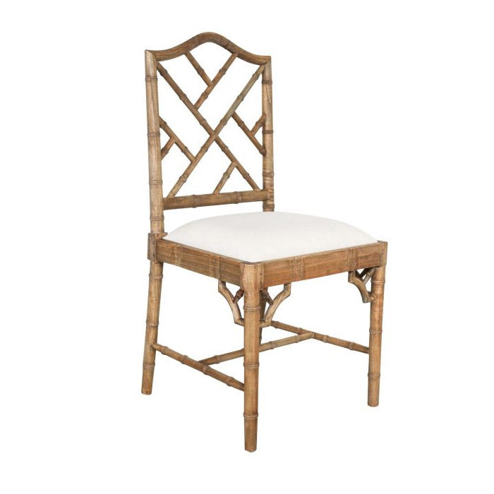 Paloma Chippendale Dining Chair – Weathered Oak