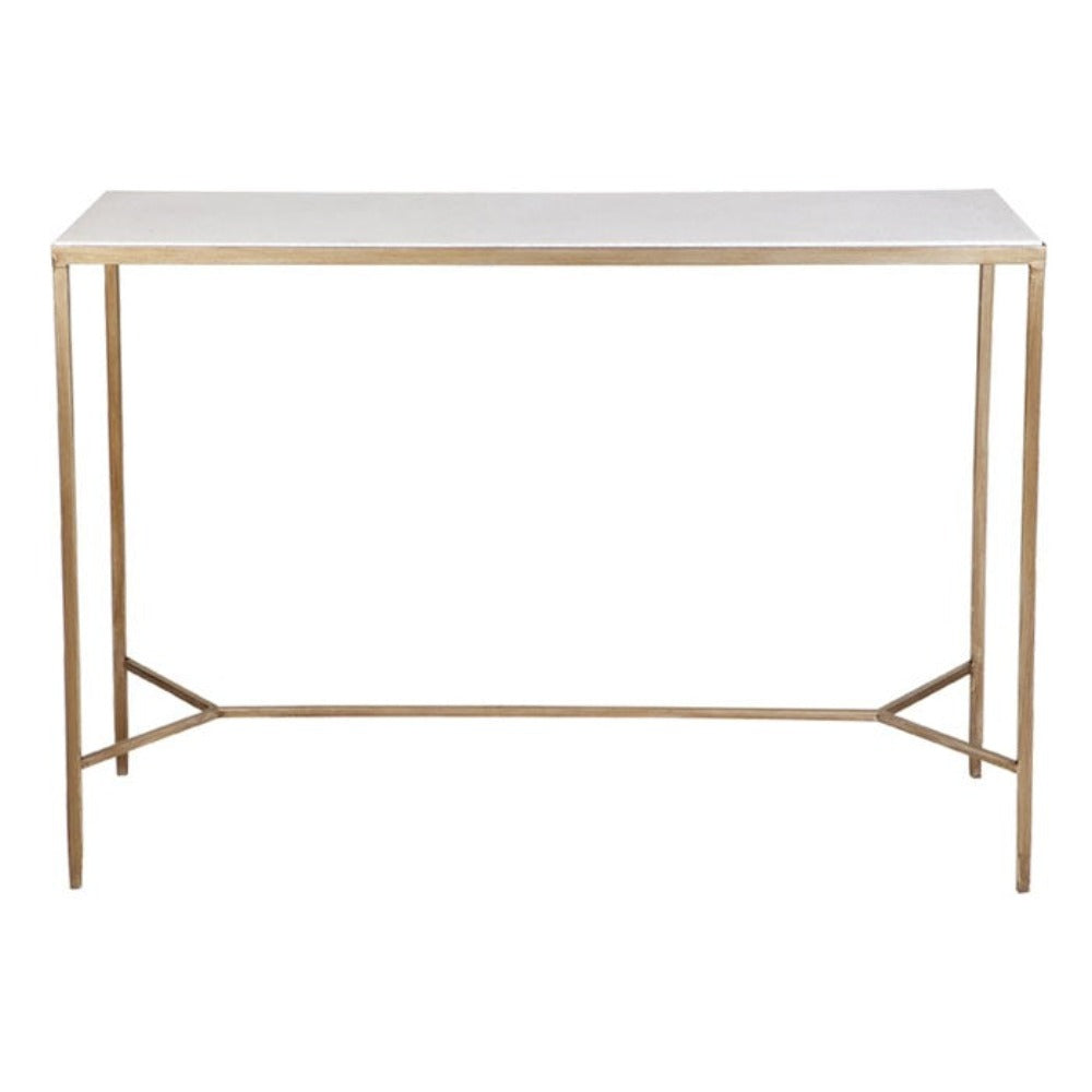 Chloe Console Table - Gold - Notbrand