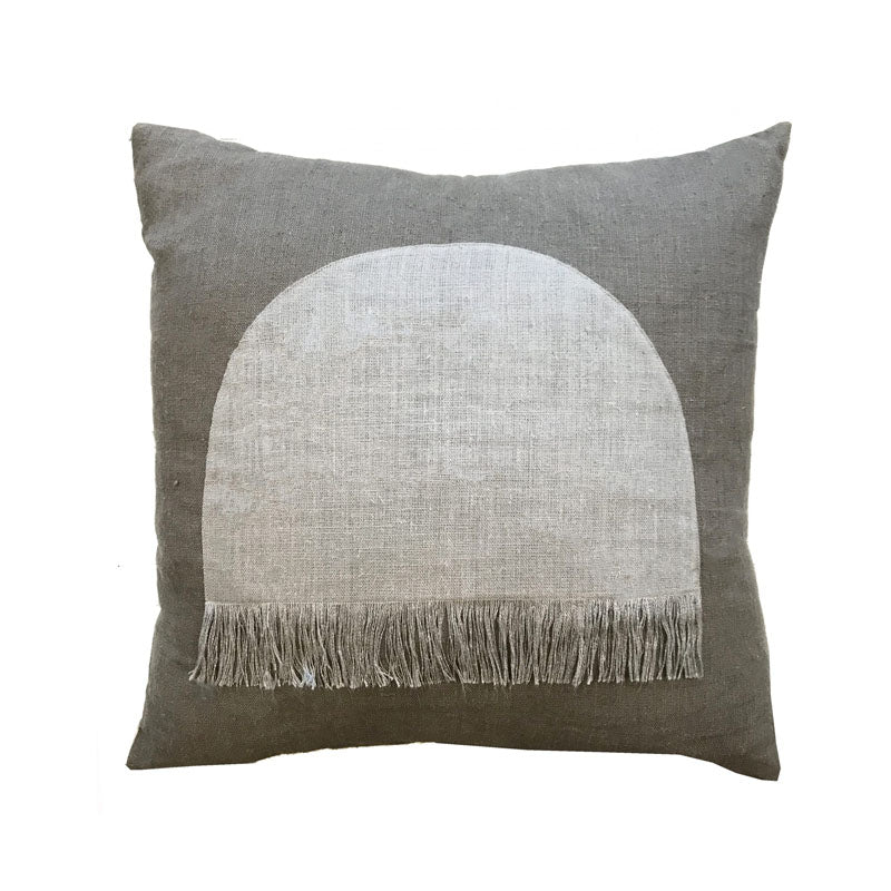 Citadel Large Cushion - Grey - Notbrand