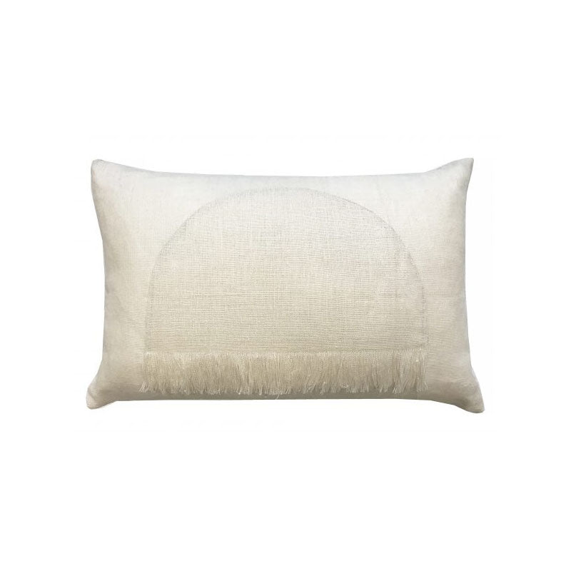 Citadel Small Cushion Pillow - Chalk - Notbrand