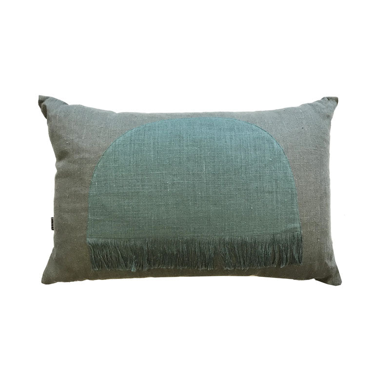 Citadel Cushion Pillow - Moss - Notbrand