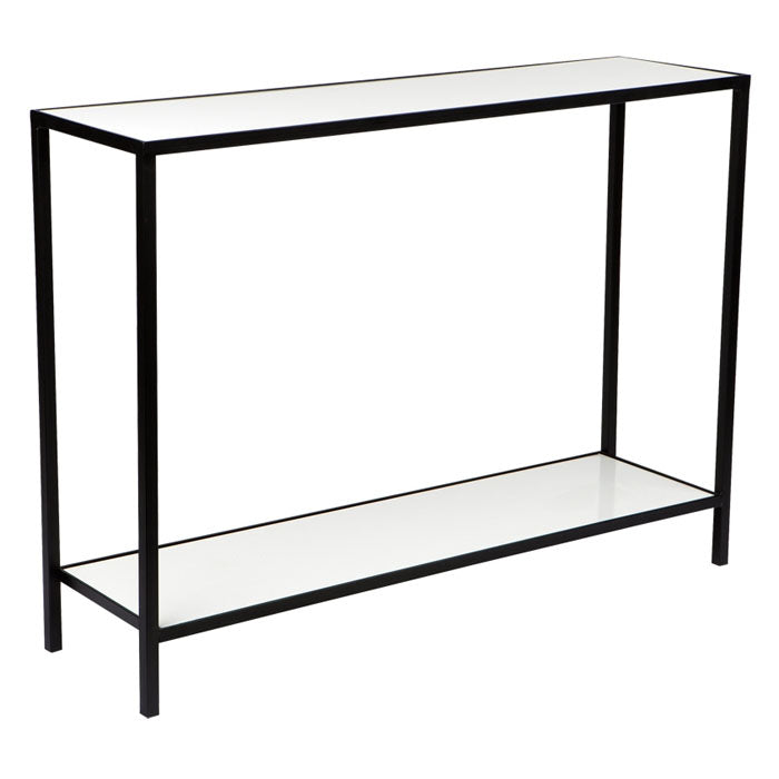 Cocktail Console Table - White - Notbrand