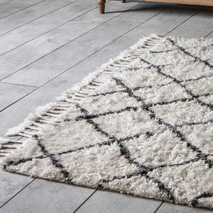 Colorado Criss Cross Pattern Rug - Notbrand