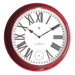 Concord Clock Red - Notbrand