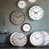Lorenzo Statement Clock Light Grey - Notbrand