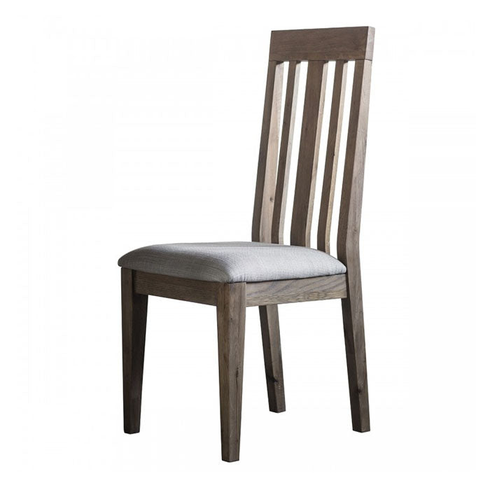 Titus Dining Chair Oak (2pk) - Notbrand