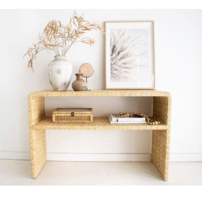 Jada Rattan Console Table - Notbrand