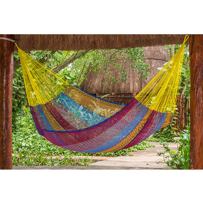 Cotton Mexican Hammock Confeti Colour - Notbrand