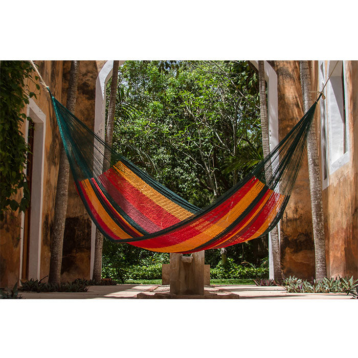 Cotton Mexican Hammock Imperial Colour - Notbrand