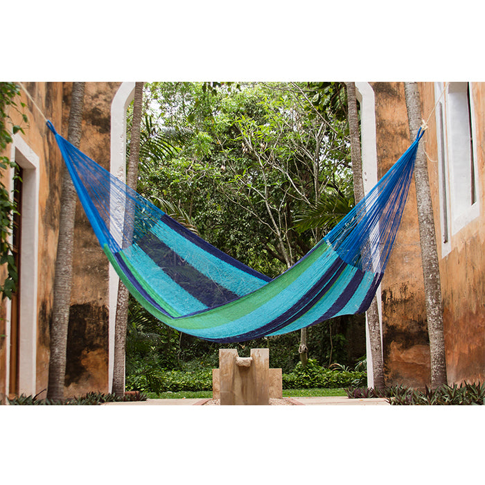 Oceanica Cotton Mexican Hammock - Notbrand