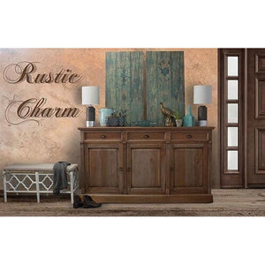 Country Cottage Sideboard Natural - Notbrand