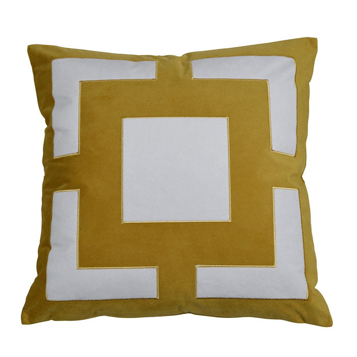 Cremorne Gold Cushion - Notbrand