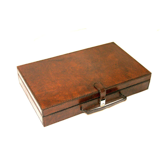 Voylla Dark Leather Cufflink Box - Notbrand