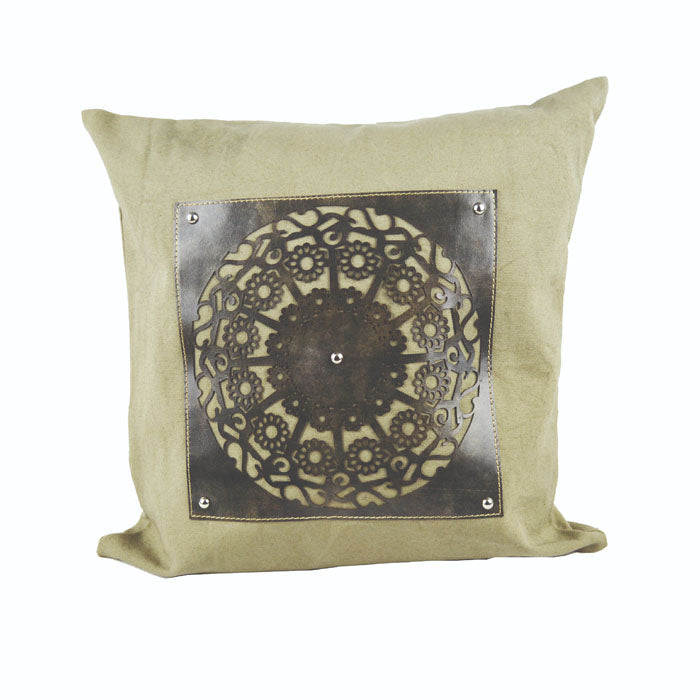 Leather Cushion Cover - Notbrand