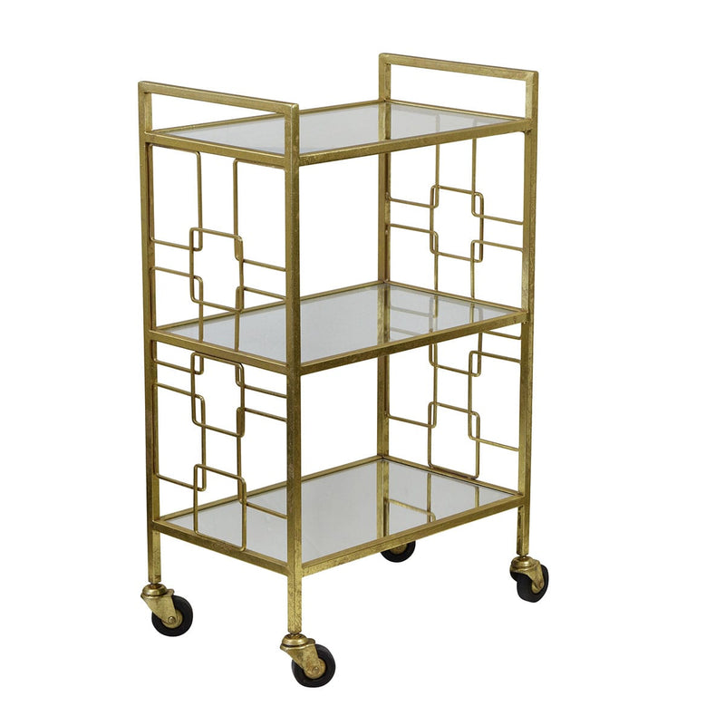 Sandringham Bar Cart Trolley - Notbrand