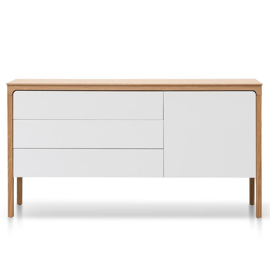 Sideboard and Buffet - Natural and White - Notbrand