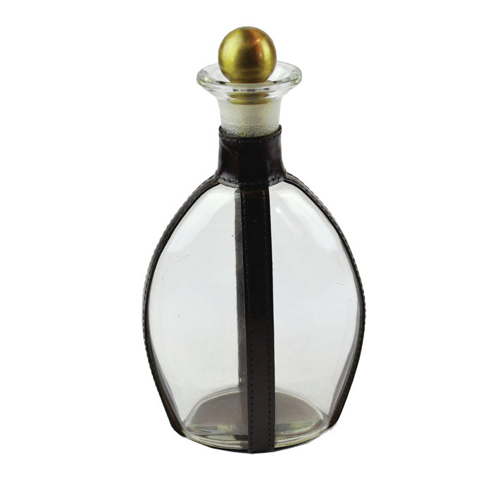 Dark Leather Decanter - Large - Notbrand