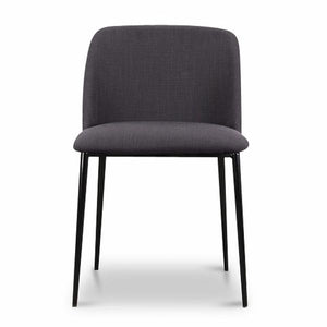 Sula Charcoal Grey Dining Chair - Notbrand
