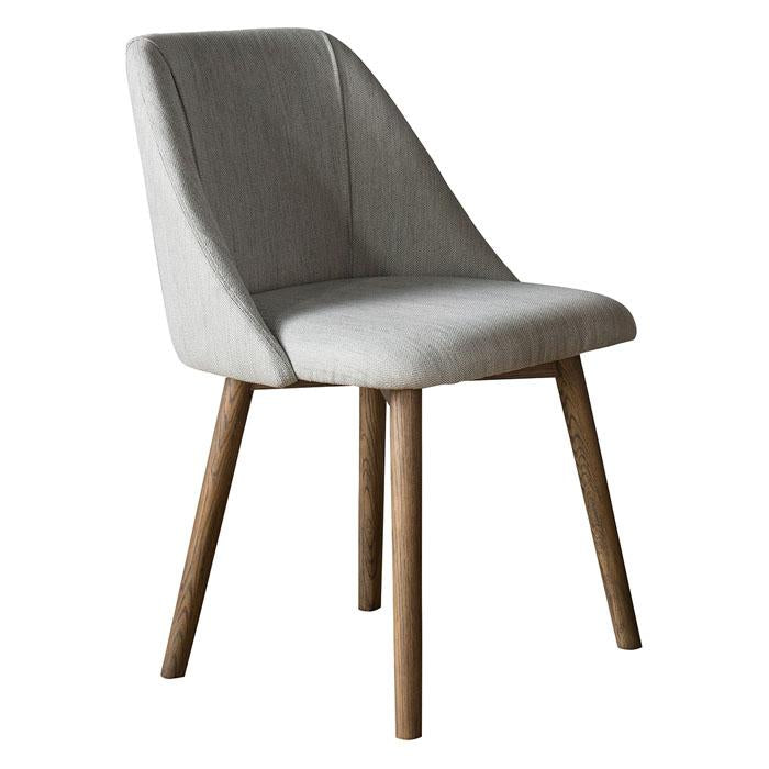 Elliot Dining Chair Neutral (2pk) - Notbrand