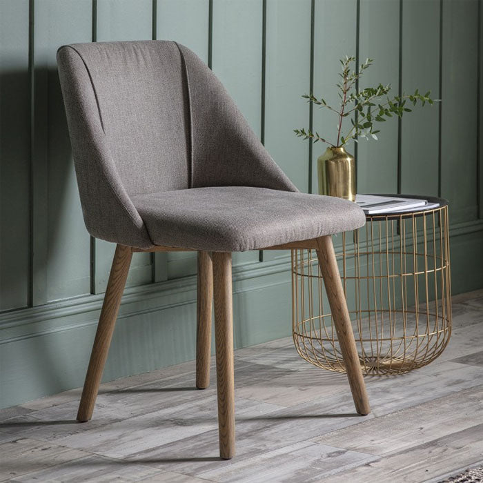Paolo Dining Chair Slate Grey