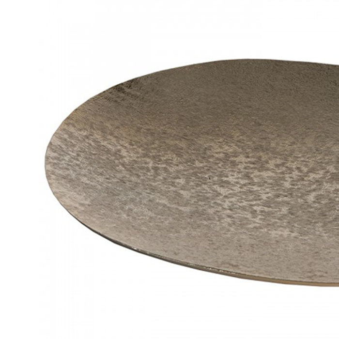 Maia Oval Shallow Platter Gold - Notbrand