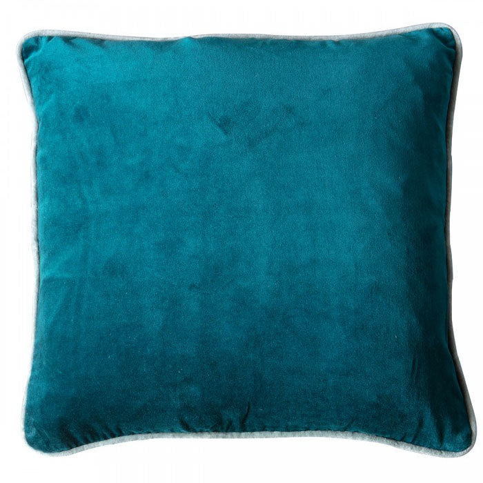 Eterno Velvet Cushion Teal - Notbrand