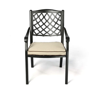 Fuji Cast Aluminium Outdoor Chair - Notbrand