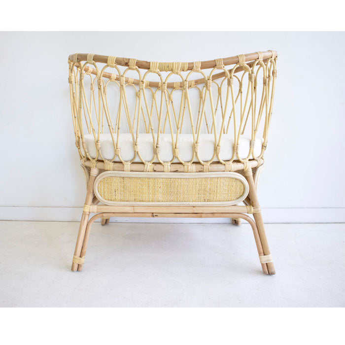Farah Rattan Baby Bassinet Light Natural - Notbrand