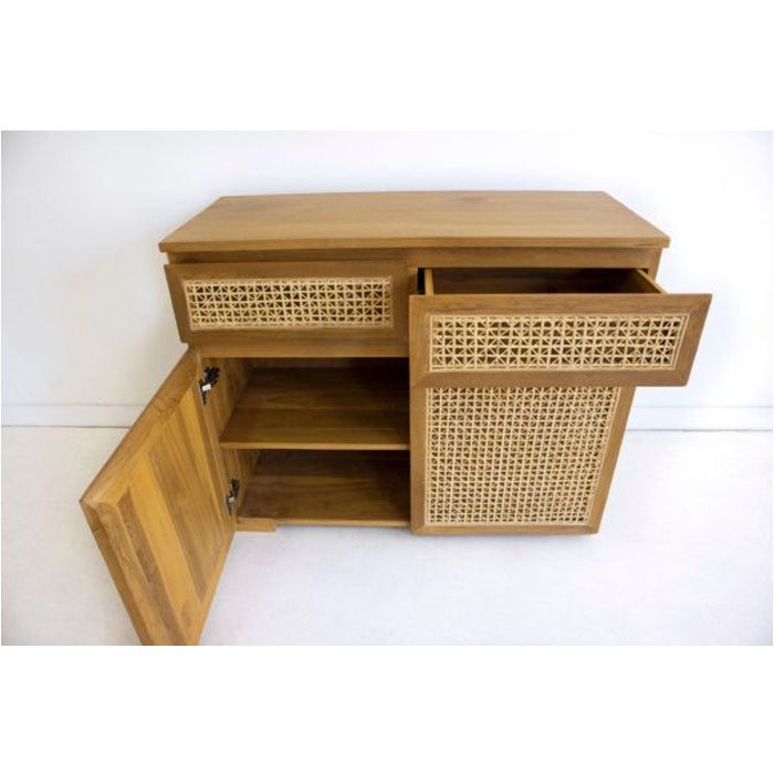 Orlando Rattan Two Door Buffet - Notbrand