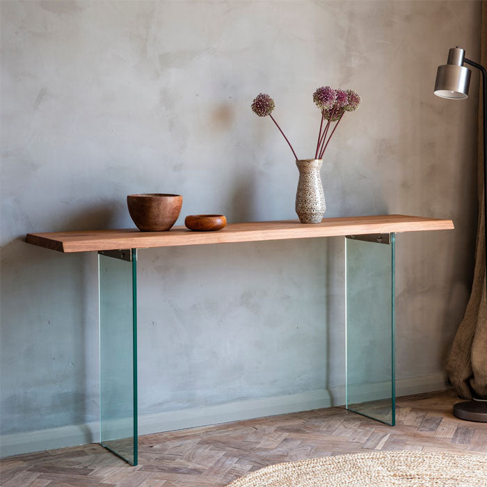 Henrdrix Console Table Grey - Notbrand