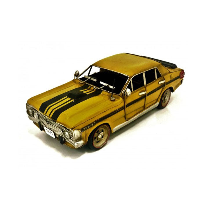 Yellow Ford XY GT Car Ornament - Notbrand